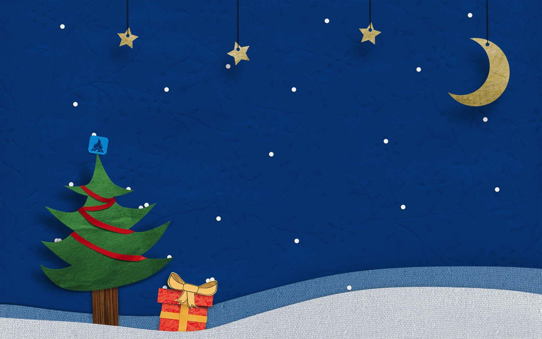 Una noche de navidad - 1440x900