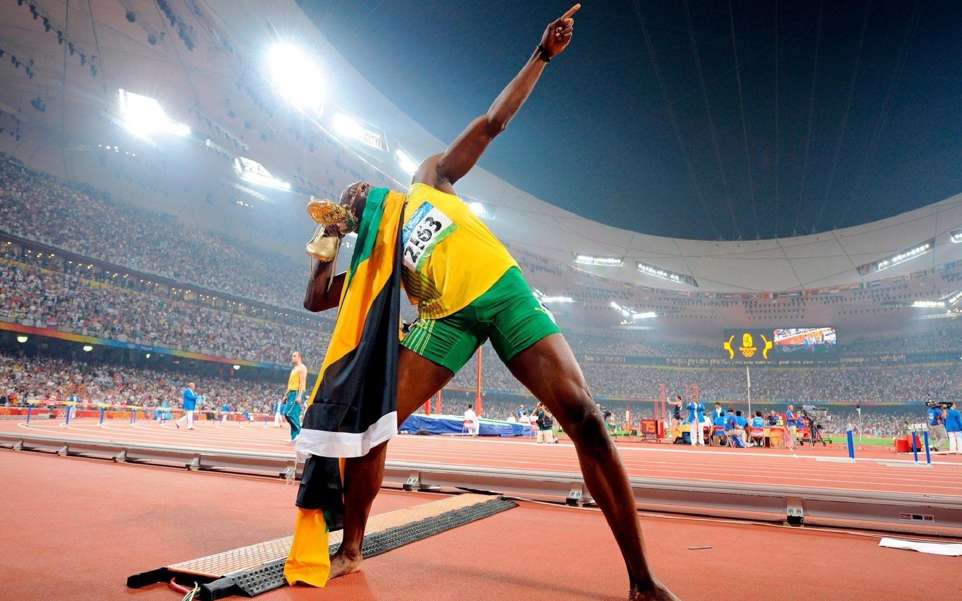 Usain Bolt en los juegos - 1920x1200