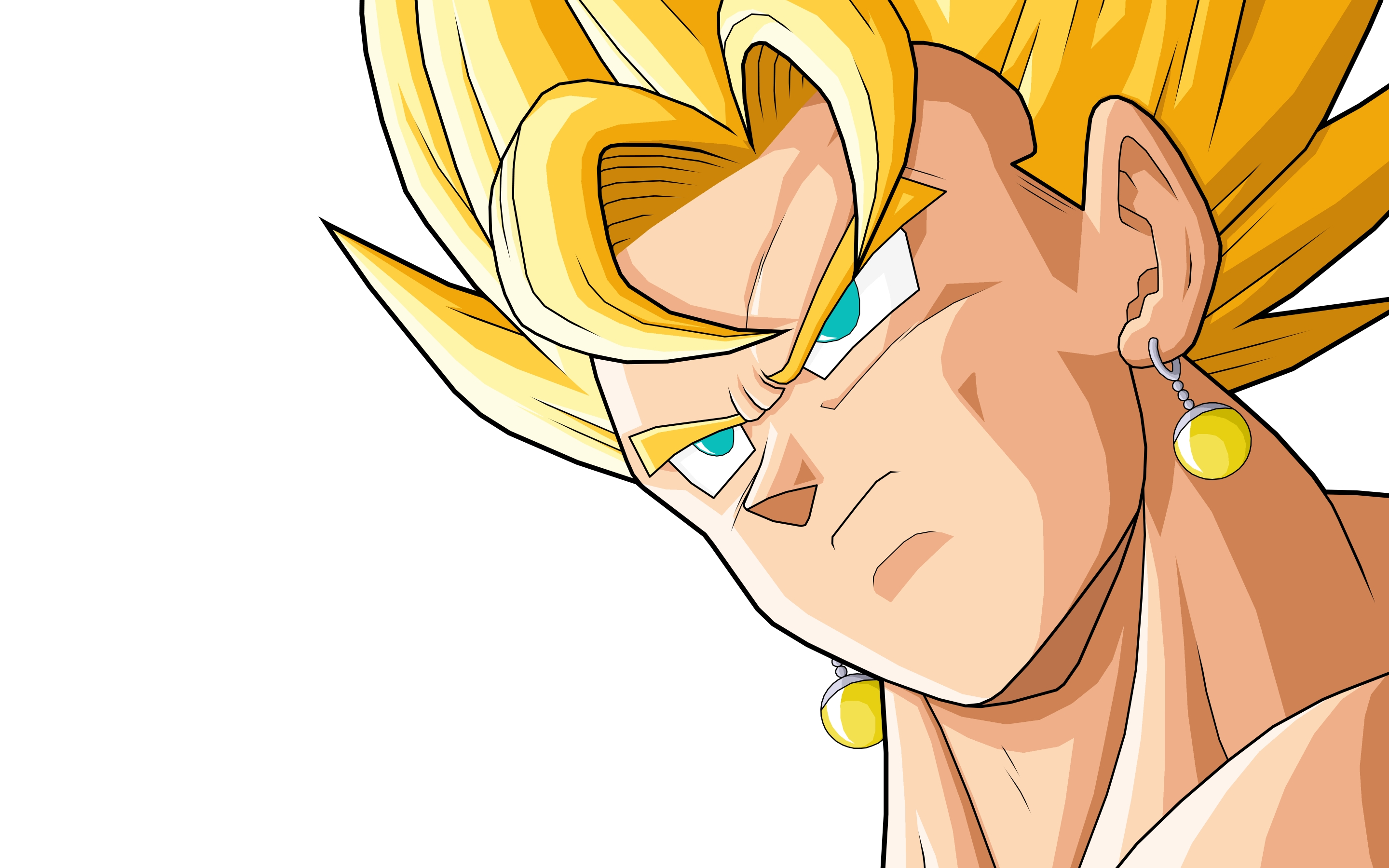 Vegeto de Dragon Ball Z hd 2880x1800  imagenes  wallpapers