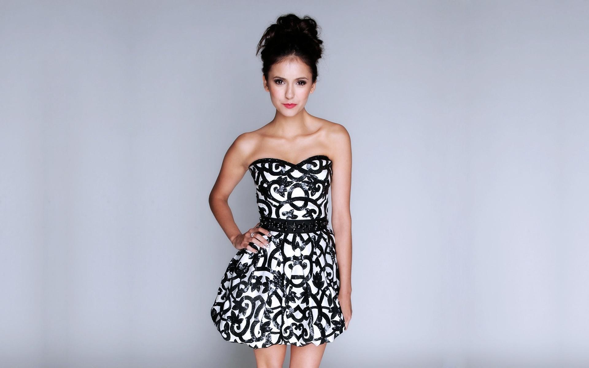 Vestido blanco y negro - 1920x1200