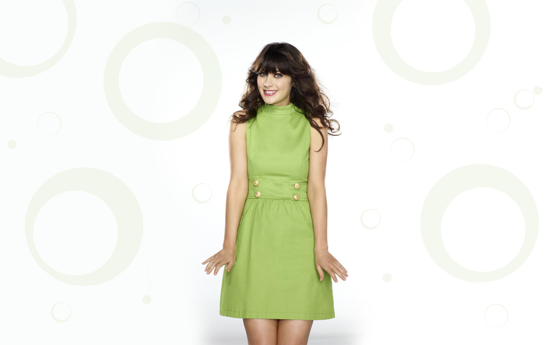 Vestido color verde - 2880x1800