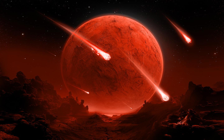 Viaje de Meteoritos - 1440x900