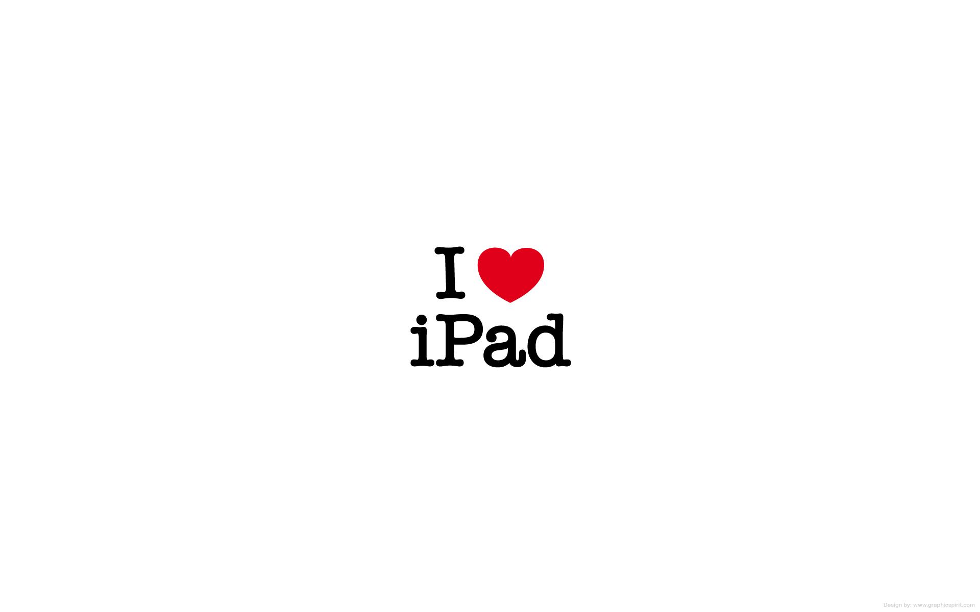 Yo amo mi iPad - 1920x1200