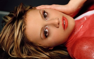 Brittany Murphy rostro