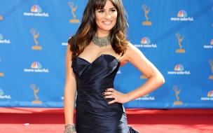 Lea Michele con vestido