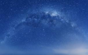 Cielo lleno de estrellas