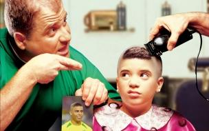 El corte de Ronaldo