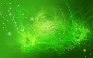 Fondo verde abstracto