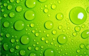 Textura verde y agua