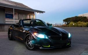 BMW Z4 negro