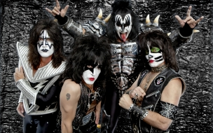 Kiss Heavy Metal