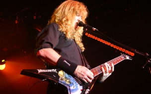 El guitarrista de Megadeth