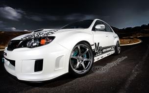 Subaru Impreza blanco