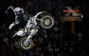 Salto en motocross