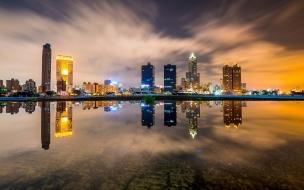 Reflejos en ciudades
