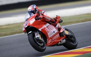 Moto deportiva Ducati
