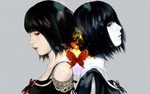 Dibujo de chicas de anime