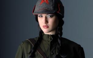 Una linda soldado
