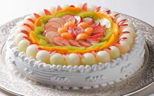 Rico pastel blanco