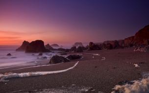 Amanecer en las playas