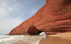 Cuevas en las playas