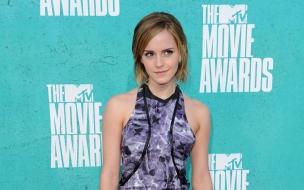 Emma Watson en la premiación