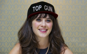 Zooey Deschanel Top Gun
