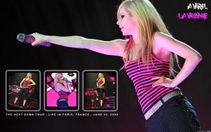 Avril Lavigne en Francia