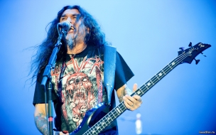 Slayer en concierto
