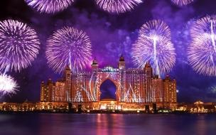 Fuegos Artificiales en Dubai
