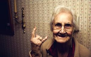 La abuela rockera