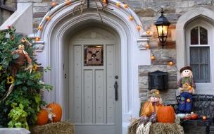 Decoración de casa halloween