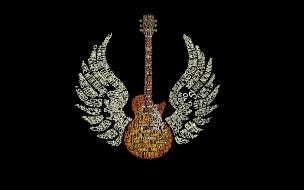 Guitarra Gibson con alas