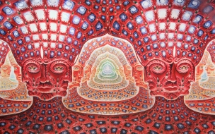 Fractales de Alex Gray