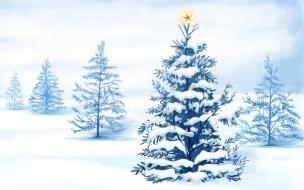 Dibujos de arboles de navidad