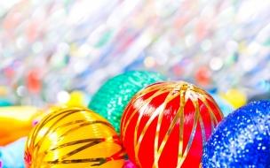Esferas por navidad