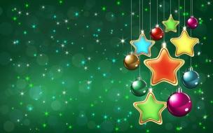 Fondo verde navidad