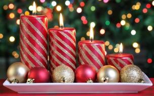 Arreglo de velas x navidad