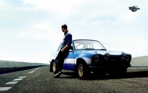 Paul Walker y su auto