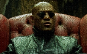 Laurence Fishburne Matrix Morpheus