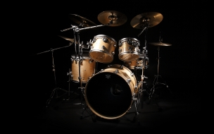 Una bateria de Rock