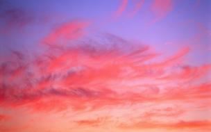 Cielo color rosa