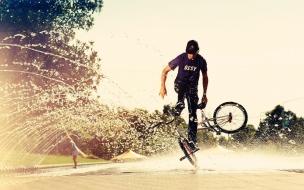 Acrobacias en BMXs
