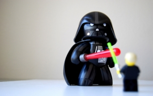Muñeco de Darth Vader
