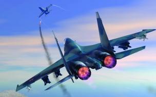 Aviones en 3D