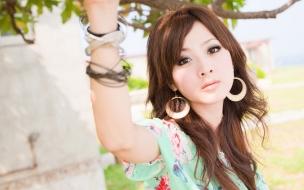 Mikako Zhang Kaijie rostro