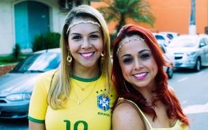 Chicas brasileñas en Mundial 2014