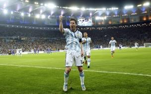 Messi tras ganar a Bosnia