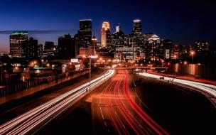 Fotos a pistas de noche