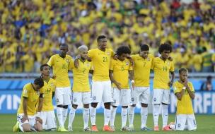 La selección Brasilera en penales